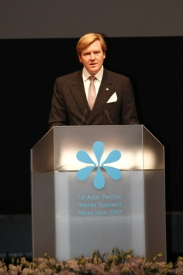 Keynote Speech by His Royal Highness Prince Willem-Alexander of the Netherlands, Chairman of United Nations Secretary-General's Advisory Board on Water and Sanitation