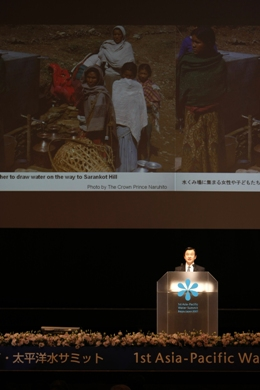 Memorial Speech by His Imperial Highness the Crown Prince of Japan